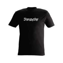 T-shirt Storasyster nr 237 svart 80cl