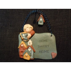 Gnomys diaries  Budskapstavla  Home sweet home  (MH0523)