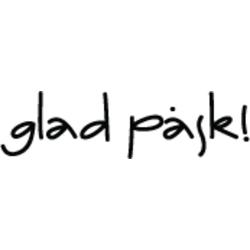 STÄMPEL FRÅN INKIDO - glad påsk - utan fp (S173)