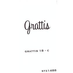 stämpel från Inkido - grattis -  (S180)