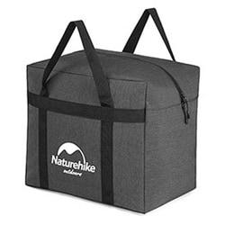 Folding Storage Bag Travel Camping Gym Sports Large Duffle Dark Gray 45L