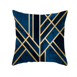 Geometric Pattern Cushion Cover Pilllowcase Sofa Home Car Decor 26#
