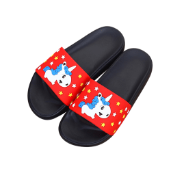 Kids Cute Cartoon Slippers Beach Casual Shoes Anti-Slip red 1,30