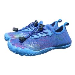 Kids Water Shoes Fishing Wading Quick Drying Beach Shoes blue,33