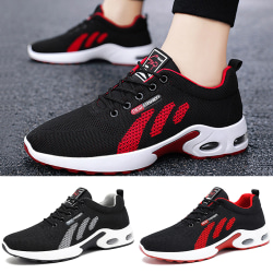 Men's air cushion sneakers shoes fitness casual running shoes Red,43
