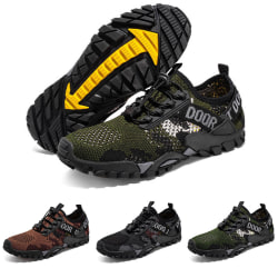 Men's breathable sports shoes wading shoes casual shoes Brown,43