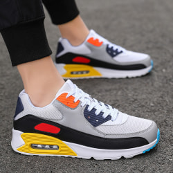 Single product - Men - Trainers&Sneakers - Air Cushion&Platform White Gray Yellow,45