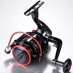 Spinning Fishing Reel Wheel 13BB 5.2:1 Gear Ratio Metal Front Golden,3000