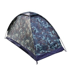 Waterproof Ultralight Camping Tent Backpacking  Tent 1Person grey,1 person
