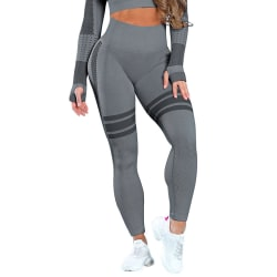 Women Compression High Waist Yoga Leggings Sports Pants Training Black,M