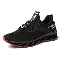 Women Men Athletic Sneakers Sports Running Trainers Casual Shoes Black,39