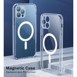 iPhone 12 PRO MAX stöt tåligt silikon skal, magsafe, kameraskydd