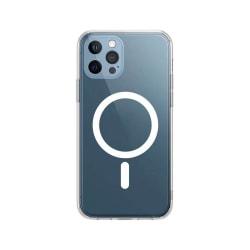 iPhone 12 MINI silikon skal, magnetisk, kameraskydd i ett