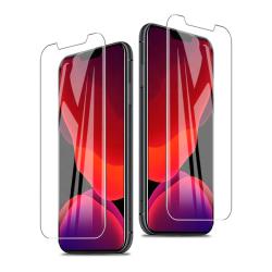 iPhone 12 PRO MAX 2 pack Heltäckande skärmskydd Härdat Glas.
