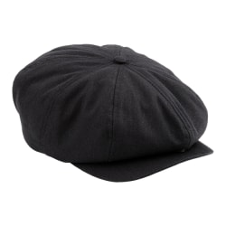 VÅRNYTT! L/XL BEECHFIELD HERRINGBONE SVART GATSBY GUBBKEPS CAP  svart