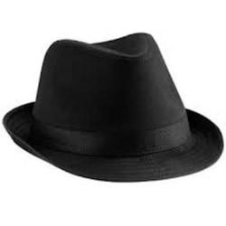 Blues Brothers Fedora Trilby Hatt S/M