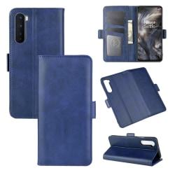 Mobilplånbok av hög kvalitet - till OnePlus Nord blå
