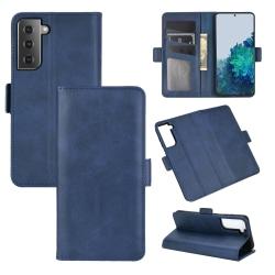 Classic Wallet - till Samsung Galaxy S21 Ultra blå