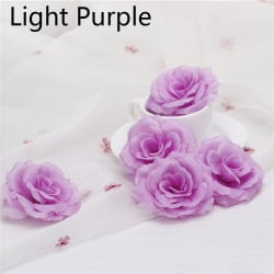 10/20PCS Artificial Rose Flower Heads Fake Bouquet LIGHT PURPLE