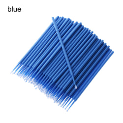 100st målarborstar bilapplikator Stickfärg Touch-up BLÅ