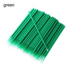 100st målarborstar bilapplikator Stickfärg Touch-up GRÖN