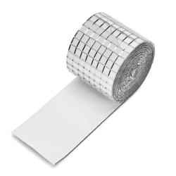 100x4cm spegelväggdekaler Mosaikplattor Mini Square Glass