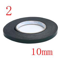 2 Pcs Sticky Tape Foam Adhesive Acrylic Glue 2 (10MM) 2 (10mm)