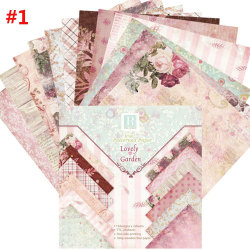 24 Sheets Origami Scrapbooking Art Background 1