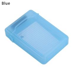 3.5-Inch HDD Enclosure Hard Disk Case Hard Disk Storage BLUE