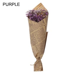 30-35CM Natural Dried Bouquets Babysbreath Real Flower PURPLE