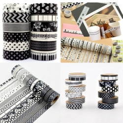 5PCS Masking Adhesive Tape Paper Stickers Self Adhesive DIY