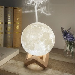 Aroma Humidifier  3D Moon Lamp 880mL Diffuser