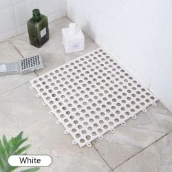 Bath Mat Anti Slip Bathroom Rug WHITE