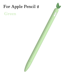 Case Cover Silicone Protective GREEN FOR APPLE PENCIL 2