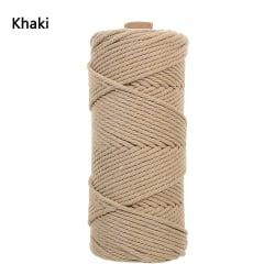 Bomullssnöre Macrame Cord Rope Macrame String KHAKI