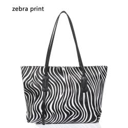 Crossbody Bag Läderväskor ZEBRA PRINT