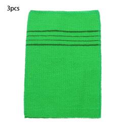 Exfoliating Bath Towel Bath Glove Shower Scrubber 3PCS