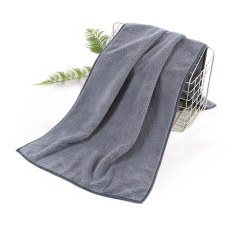 Hair Drying Towel Shower Towel Dry Hair Turban GREY