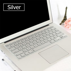 Keyboard Cover Silicone SILVER