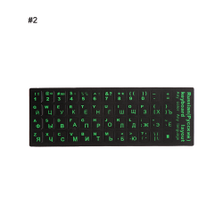 Keyboard Stickers Notebook Keypad Cover Sticker 2