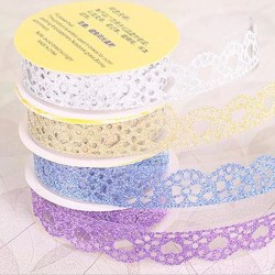 Lace Tape Roll Paper Bling Sticky