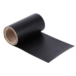 Läderreparationsband Soffor Reparation Klistermärken SVART black