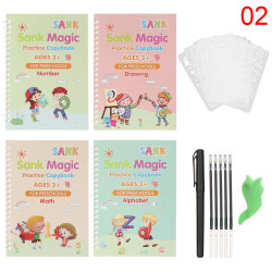 Magic Writing Stickers Kids Groove Copybook Handwriting 2