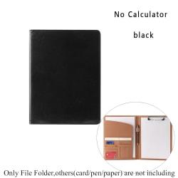 Manager Portfolio File Folder Document Holder BLACK NO
