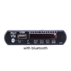 MP3 Decoder Board Car MP3 Amplifier Radio WITH BLUETOOTH with bluetooth