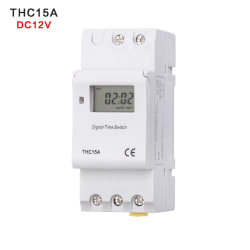 Programmable Time Switch  Time Control Relay Rail Timer DC 12V DC 12V