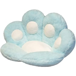 Seat Cushion Cat Paw Shape BLUE blue