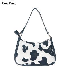 Shoulder Bag Tote Bag COW PRINT