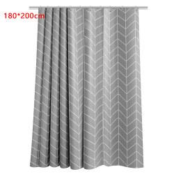 Shower Curtain Bath Bathroom Curtains Water Splash Resistant