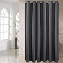 Shower Curtain Bath Bathroom Curtains Waterproof DARK